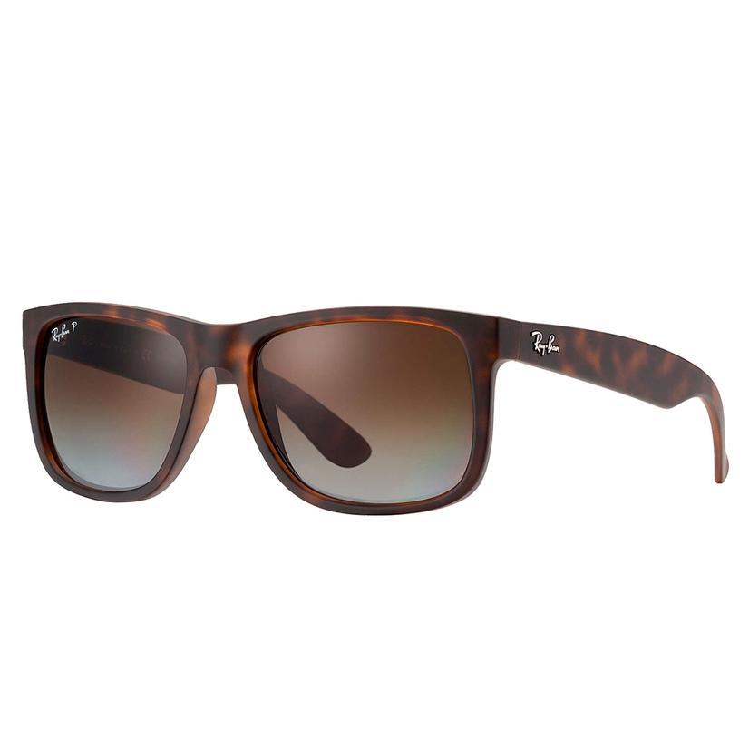 Ray- Ban Justin Rubber Havana Sunglasses