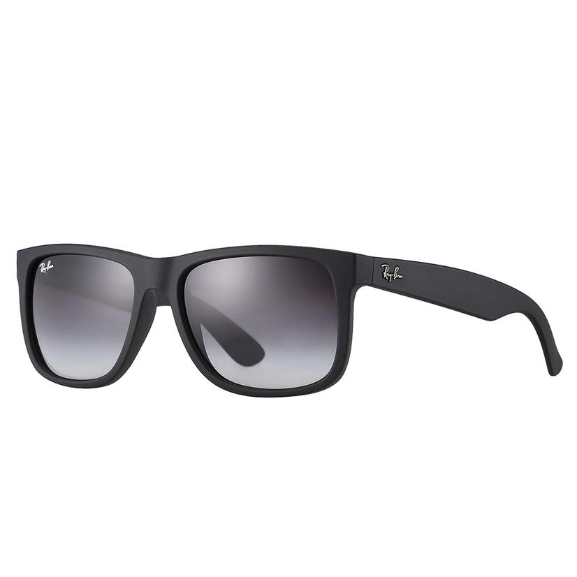 Ray- Ban Justin Black Rubber Sunglasses