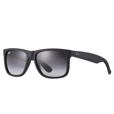 Ray-Ban Justin Black Rubber Sunglasses