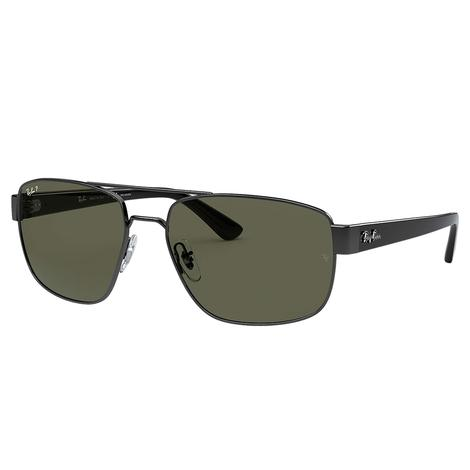 Ray Ban Mens Gunmetal Sunglasses