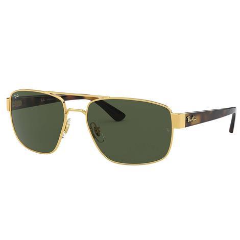 Ray Ban Mens Gold Sunglasses