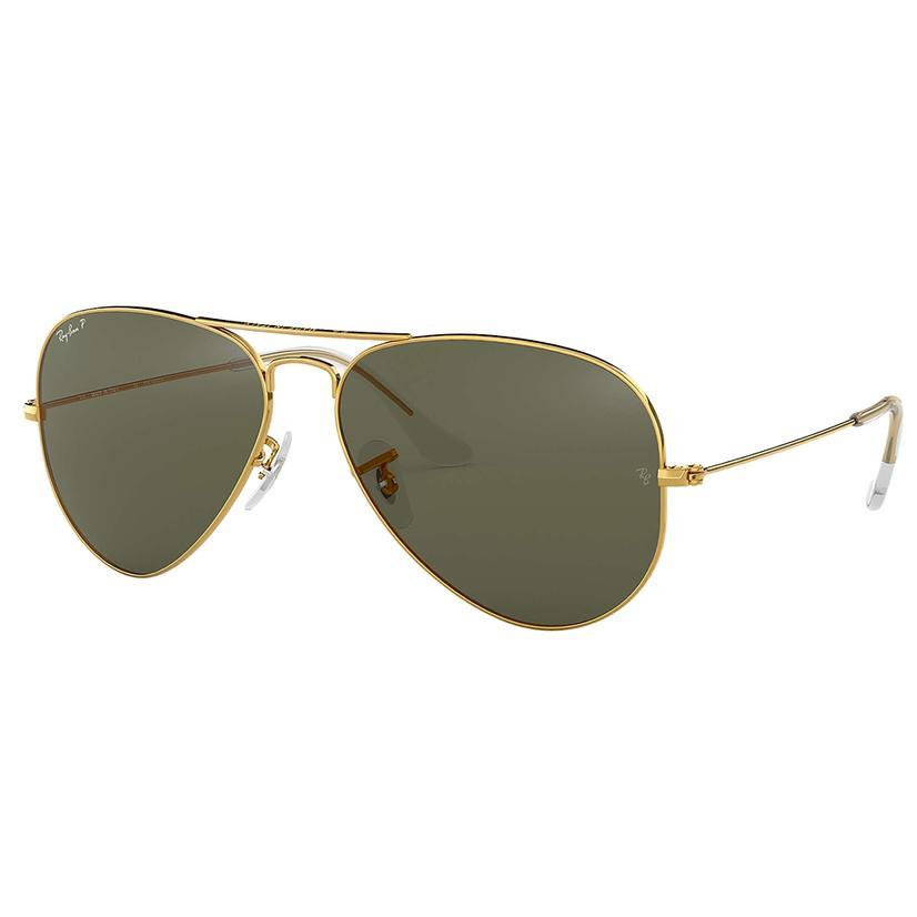 Ray- Ban Large Aviator Classic Gold G15 Sunglasses