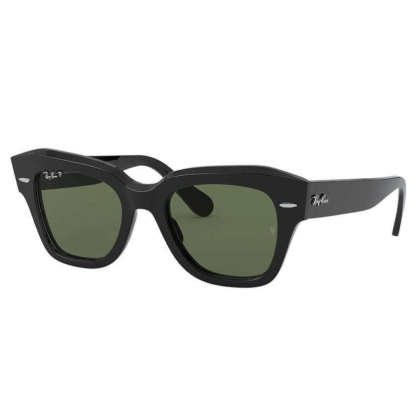 Ray Ban State Street Black Sunglasses