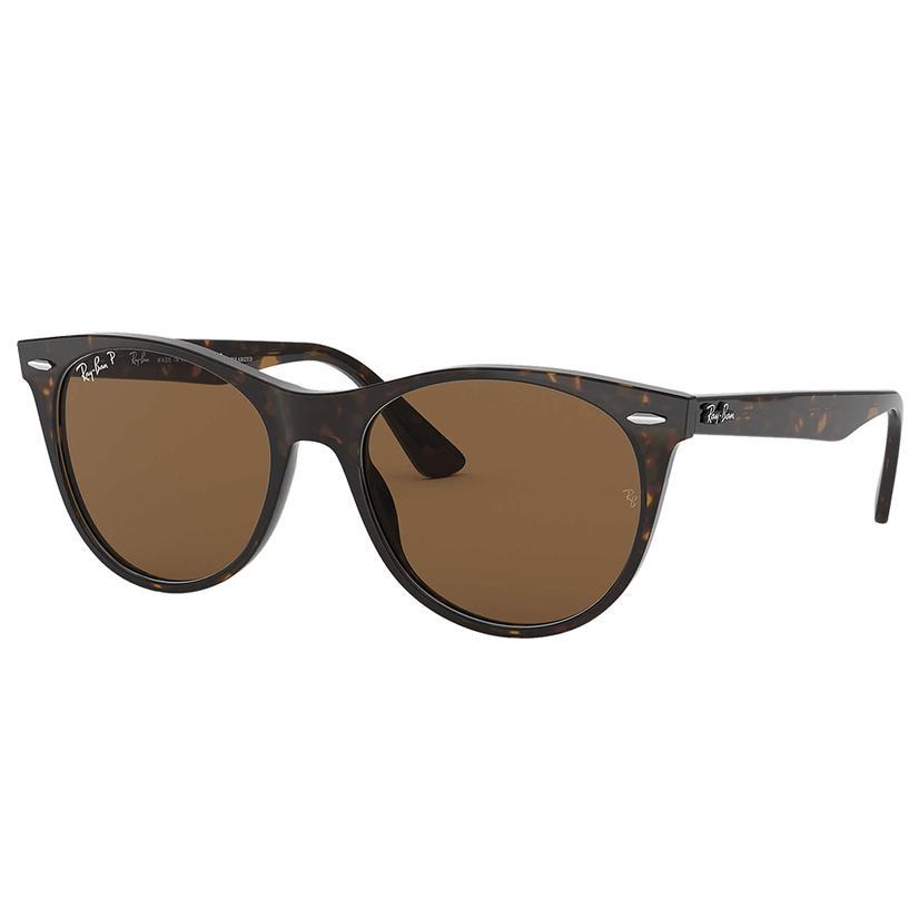 Ray Ban Wayfarer Ii Classic Brown Sunglasses