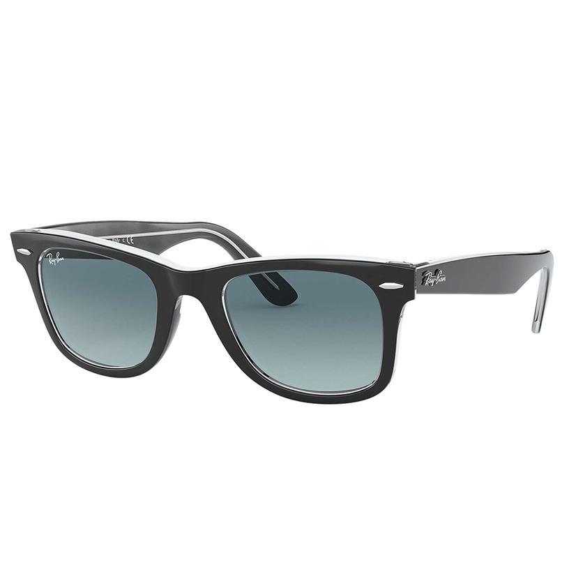Ray- Ban Original Wayfarer Bicolor Blue Gradient Sunglasses