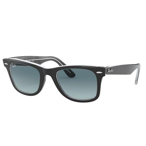 Ray-Ban Original Wayfarer Bicolor Blue Gradient Sunglasses