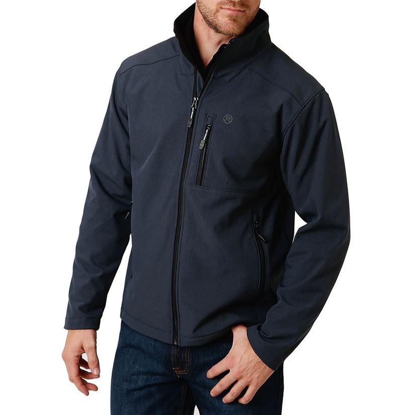 Roper Navy Tech Softshell Men's Jacket