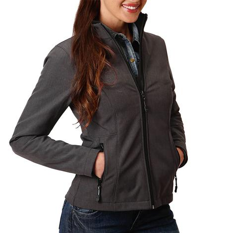 Roper Grey Tech Softshell Women's Jacket