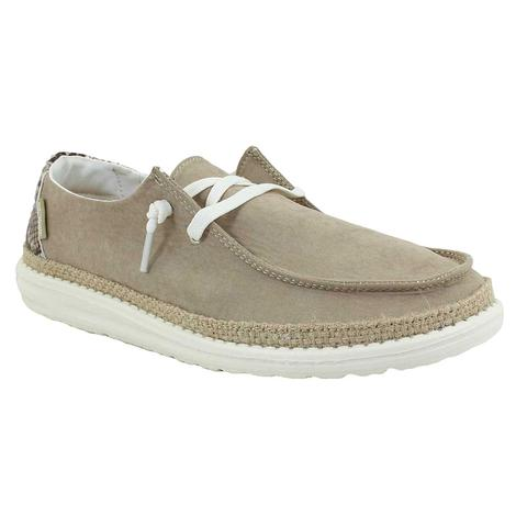 Hey Dudes Wendy Python Brown Women's Shoe