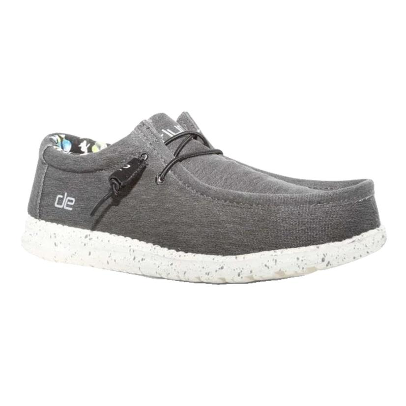 Hey Dude Wally Stretch Iron Men's Shoes