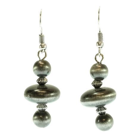 West & Company Faux Navajo Pearl Earrings