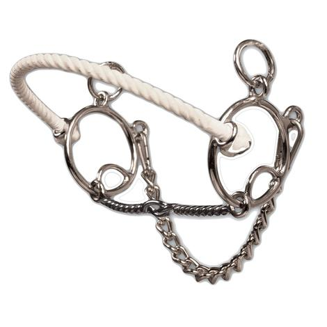 Professionals Choice Brittany Pozzi Combination Series Twisted Wire Snaffle