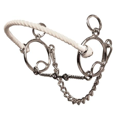 Brittany Pozzi Combination Series Three Piece Twisted Wire Snaffle