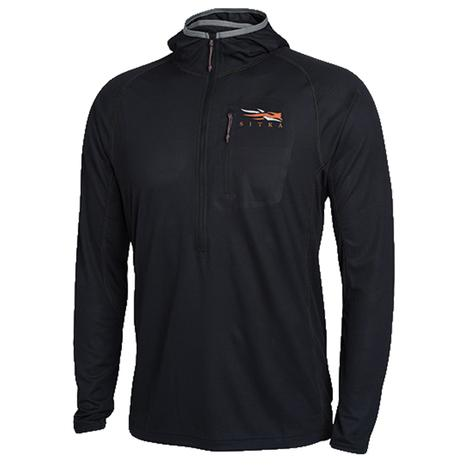 Sitka Core Lightweight Hoody Black