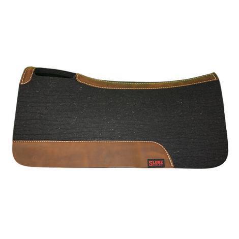 Tod Slone 3/4 Inch Medium Black Felt Top Saddle Pad