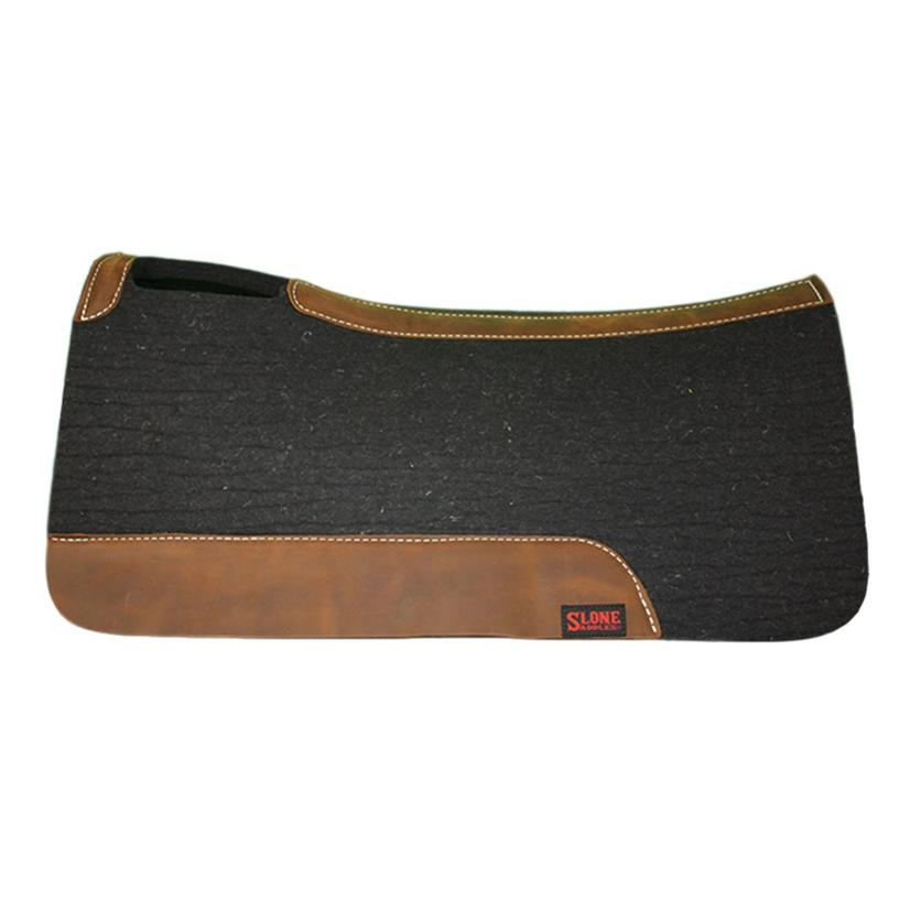 Tod Slone 1 Inch Black Felt Top Medium Saddle Pad