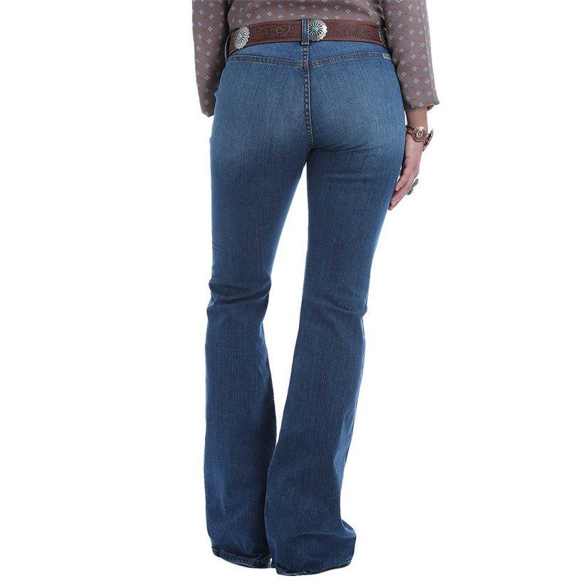 Cruel Girl Hannah Button Fly Flare Women's Jeans