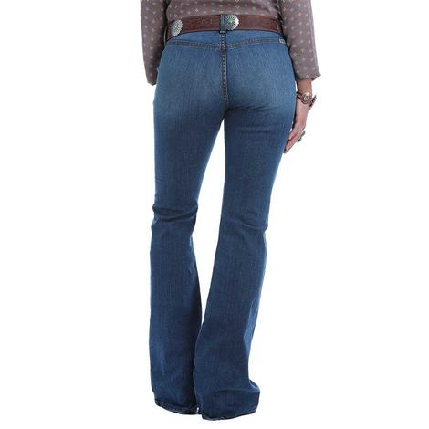Cruel Girl Hannah Button Fly Flare Women's Jeans