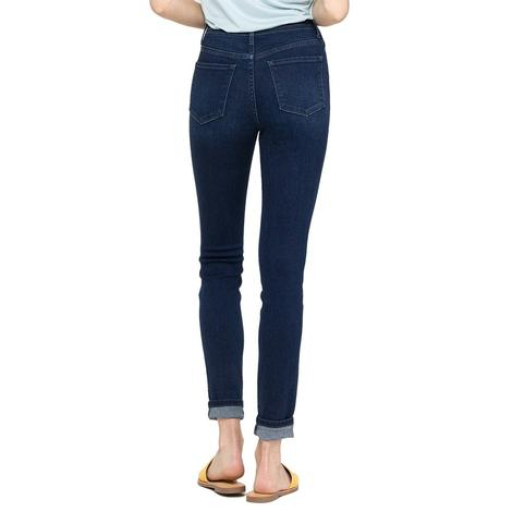 Vervet Button Fly Women's Ankle Skinny Jeans