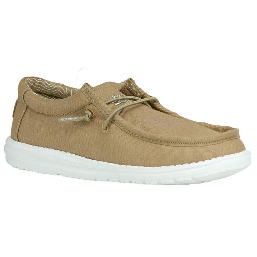 Hey Dudes Wally Tan Youth Shoe
