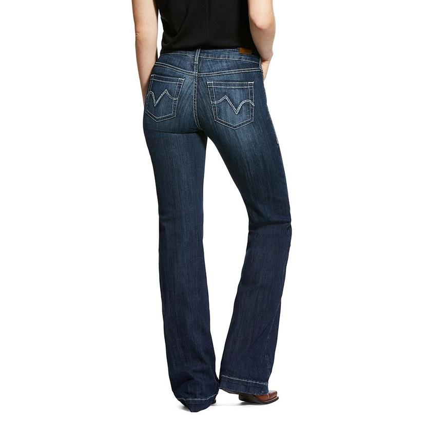 Ariat Bianca Dark Wash Women's Trousers