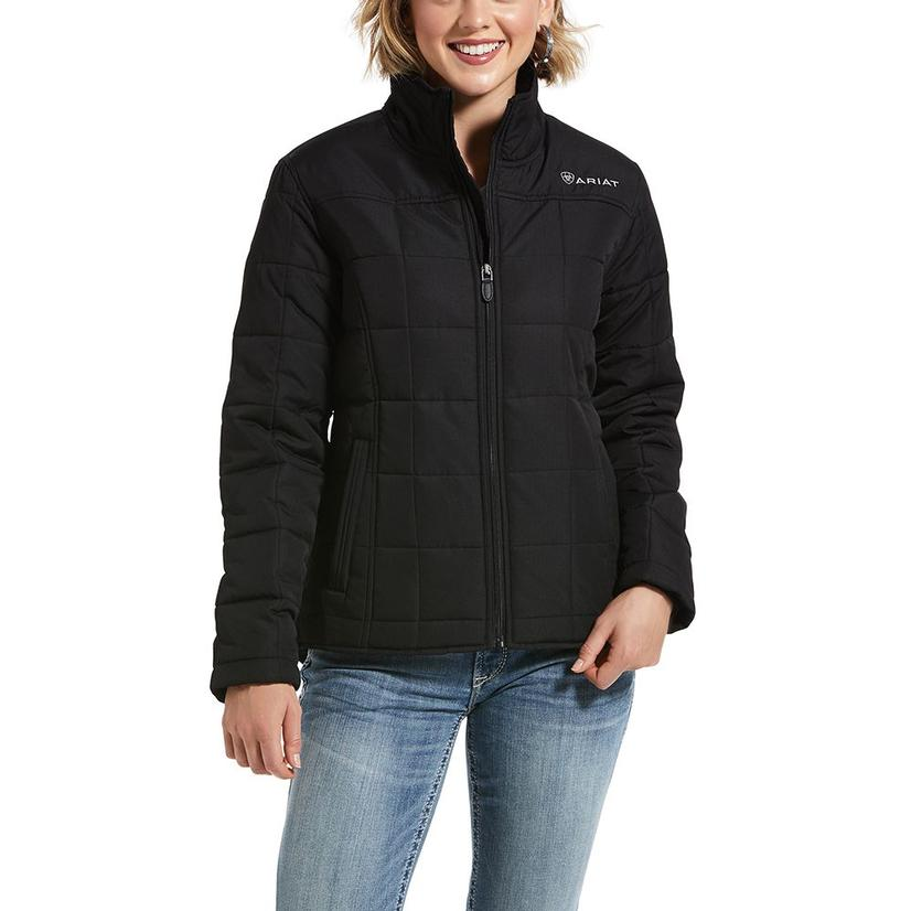 Ariat R.E.A.L.Crius Black Quilted Women's Jacket