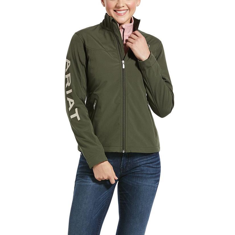 Ariat New Team Softshell Logo Women's Jacket