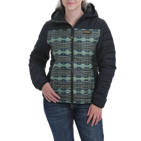 Cinch Blaze Aztec Print Quilted Jacket