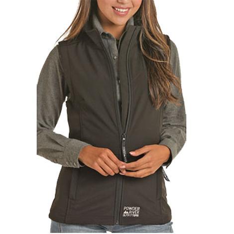 Powder River Womens Performance Softshell Vest