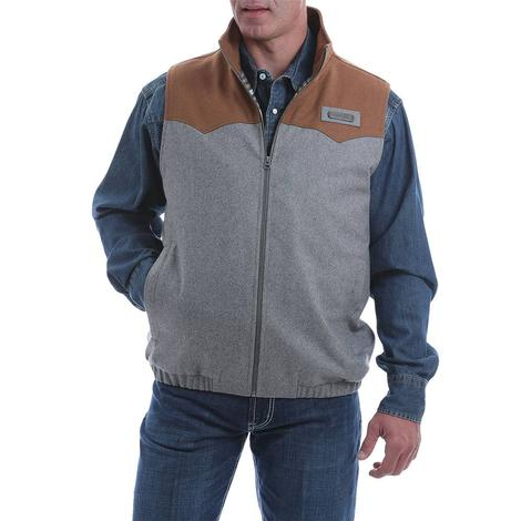 Cinch Color Block Wool Men's Concealed Carry Vest