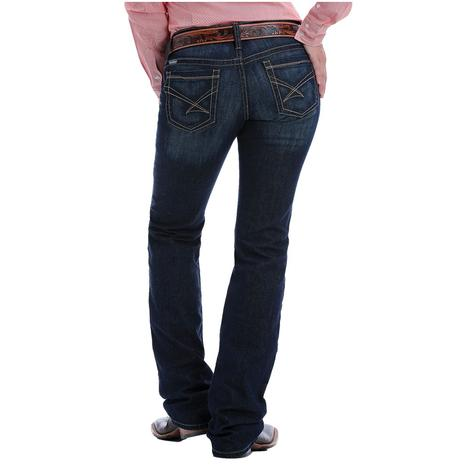 Cinch Ada Relaxed Fit Dark Wash Womens Jeans