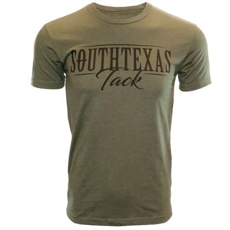 STT Military Green Logo T-Shirt