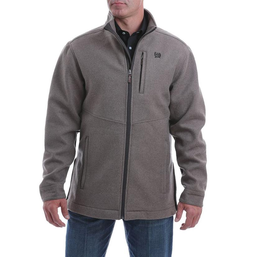Cinch Brown Wool Blend Jacket