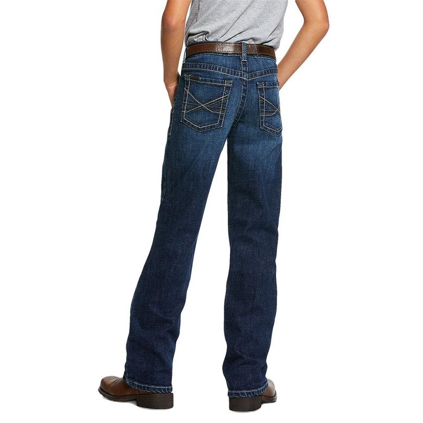Ariat Boy's B4 Relaxed Bootcut Jeans