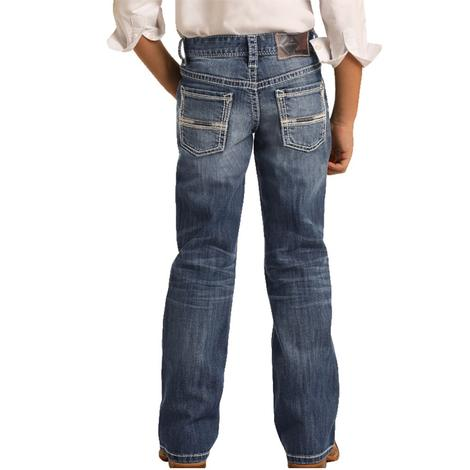 Rock & Roll Medium Vintage Bootcut Boy's Jean