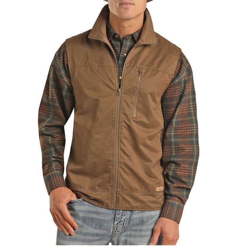 Powder River Camel Rancher Men's Vest