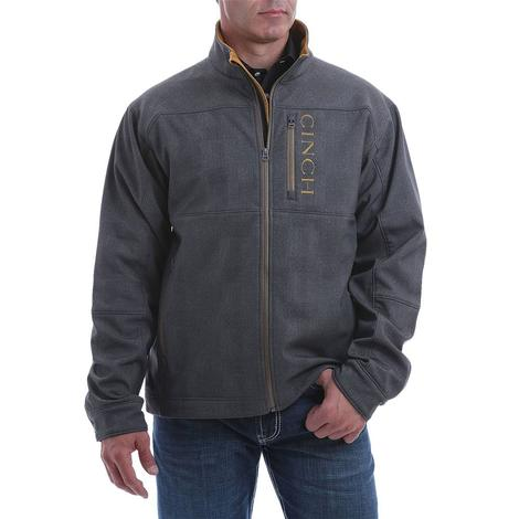Cinch Charcoal Brown Bonded Jacket