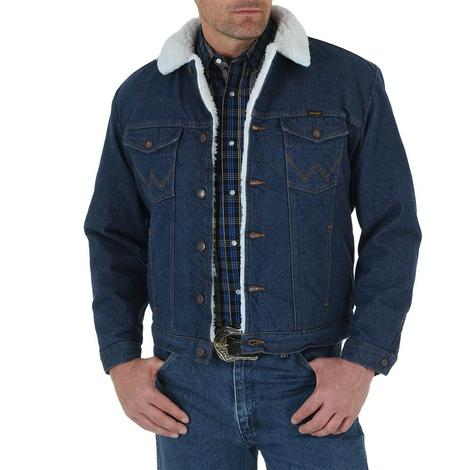 Wrangler Sherpa Lined Denim Men's Jacket