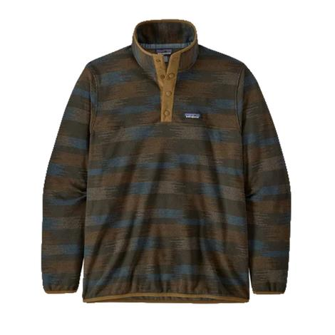 Patagonia Micro D Snap-T Men's Pullover - Industrial Green