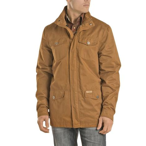 Powder River Camel Rancher Button Men's Jacket