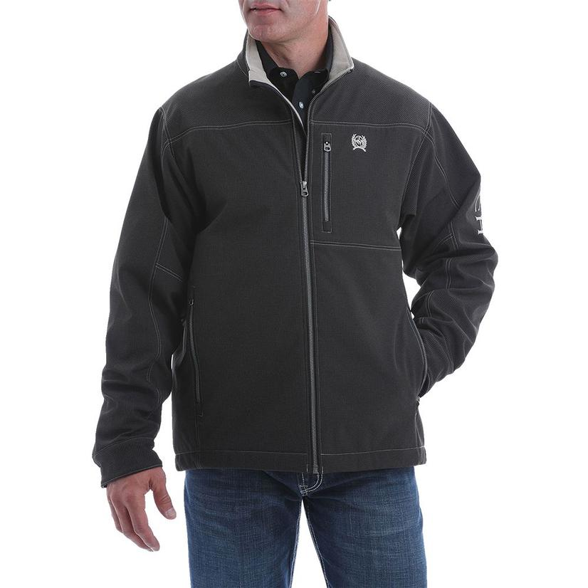 Cinch Textured Bonded Concealed Carry Men's Jacket Extended Sizes