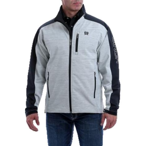 Cinch Grey Black Bonded Men's Jacket