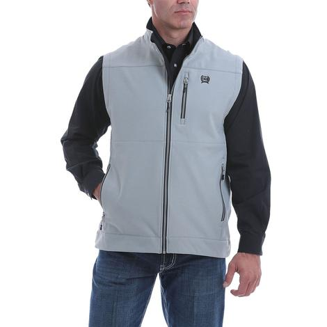 Cinch Grey Textured Bonded Men's Vest