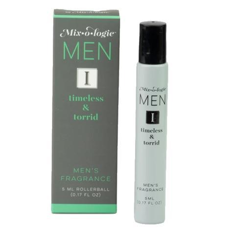 Mixologie Timeless and Torrid Roller Ball Men's Fragrance 5ml