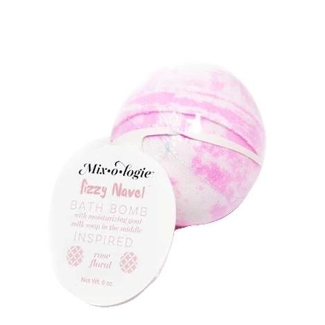 Mixologie Fizzy Naval Bath Bomb Inspired Floral Rose