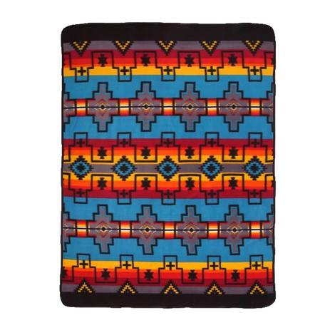 El Paso Fleece Lodge Blanket #1