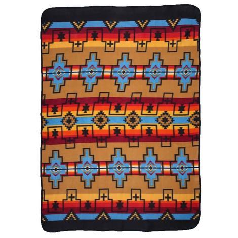 El Paso Fleece Lodge Blanket #1A