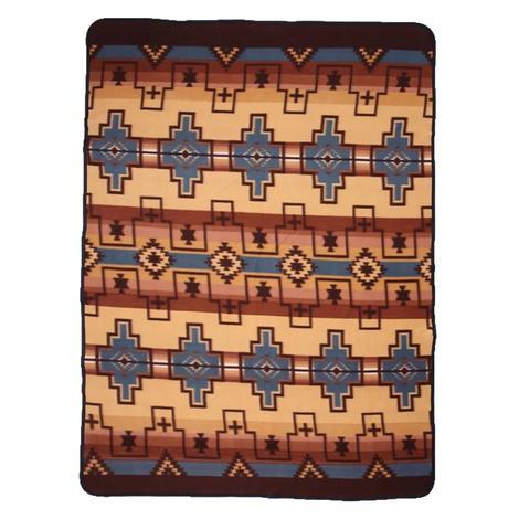 El Paso Fleece Lodge Blanket #1B