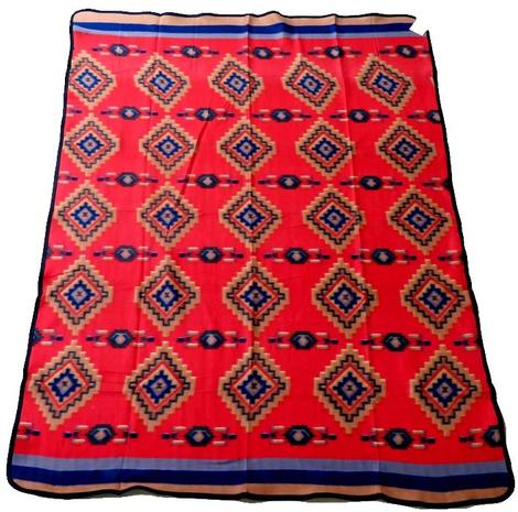 El Paso Fleece Lodge Blanket #27B