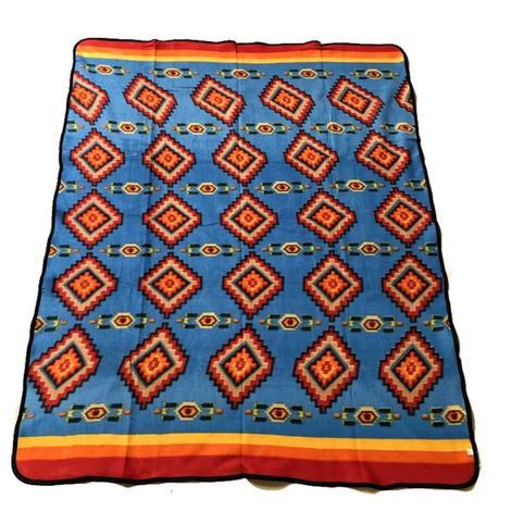 El Paso Fleece Lodge Blanket #27C